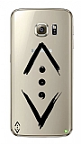 Çukur Lisanslı Samsung Galaxy S7 Edge Siyah Çukur Logo Kılıf