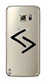Çukur Lisanslı Samsung Galaxy S7 Edge Siyah Kara Kuzular Logo Kılıf