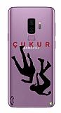 Çukur Lisanslı Samsung Galaxy S9 Plus Siyah Düşüş Logo Kılıf