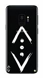 Çukur Lisanslı Samsung Galaxy S9 Beyaz Çukur Logo Kılıf