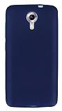 Dafoni Air Slim General Mobile Android One / General Mobile GM 5 Ultra İnce Mat Lacivert Silikon Kılıf