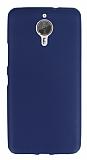 Dafoni Air Slim General Mobile GM 5 Plus Ultra İnce Mat Lacivert Silikon Kılıf