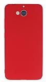 Dafoni Air Slim Casper Via A1 Ultra İnce Mat Kırmızı Silikon Kılıf