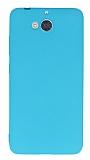 Dafoni Air Slim Casper Via A1 Ultra İnce Mat Mavi Silikon Kılıf
