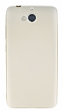 Dafoni Air Slim Casper Via A1 Ultra İnce Mat Gold Silikon Kılıf