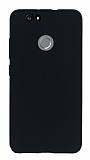 Huawei Nova Ultra İnce Mat Siyah Silikon Kılıf