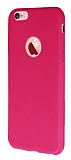 Dafoni Air Slim iPhone 6 Plus / 6S Plus Ultra �nce Mat Pembe Silikon K�l�f