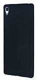 Dafoni Air Slim Sony Xperia Z3 Plus Ultra İnce Mat Siyah Silikon Kılıf