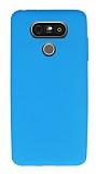 Dafoni Air Slim LG G5 Ultra İnce Mat Mavi Silikon Kılıf