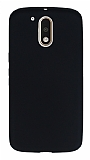 Dafoni Air Slim Motorola Moto G4 / G4 Plus Ultra İnce Mat Siyah Silikon Kılıf