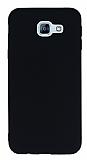 Samsung Galaxy A8 2016 Ultra İnce Mat Siyah Silikon Kılıf