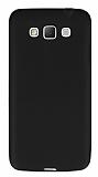 Dafoni Air Slim Samsung Galaxy Grand Max Ultra İnce Mat Siyah Silikon Kılıf