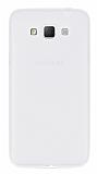 Dafoni Air Slim Samsung Galaxy Grand Max Ultra İnce Mat Şeffaf Silikon Kılıf