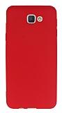 Dafoni Air Slim Samsung Galaxy J5 Prime Ultra İnce Mat Kırmızı Silikon Kılıf