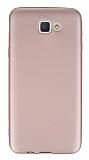 Dafoni Air Slim Samsung Galaxy J5 Prime Ultra İnce Mat Rose Gold Silikon Kılıf