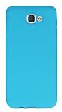 Dafoni Air Slim Samsung Galaxy J5 Prime Ultra İnce Mat Mavi Silikon Kılıf