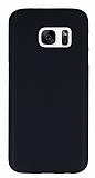 Dafoni Air Slim Samsung Galaxy S7 Ultra İnce Mat Siyah Silikon Kılıf