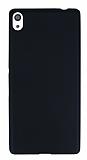 Dafoni Air Slim Sony Xperia XA Ultra Süper İnce Mat Siyah Silikon Kılıf