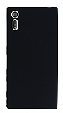 Dafoni Air Slim Sony Xperia XZ Süper İnce Mat Siyah Silikon Kılıf