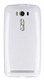 Eiroo Asus ZenFone 2 Laser 5 inç Ultra İnce Şeffaf Silikon Kılıf