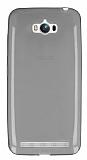 Dafoni Aircraft Asus ZenFone Max Ultra İnce Şeffaf Siyah Silikon Kılıf