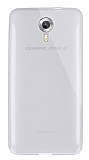 Dafoni Aircraft General Mobile Android One / General Mobile GM 5 Ultra İnce Şeffaf Silikon Kılıf