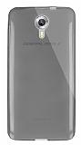 Dafoni Aircraft General Mobile Android One / General Mobile GM 5 Ultra İnce Şeffaf Siyah Silikon Kılıf
