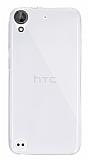 Dafoni Aircraft HTC Desire 530 Ultra İnce Şeffaf Silikon Kılıf