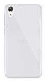 Dafoni Aircraft HTC Desire 728G Ultra İnce Şeffaf Silikon Kılıf