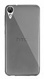 Dafoni Aircraft HTC Desire 825 / Desire 10 Lifestyle Ultra İnce Şeffaf Siyah Silikon Kılıf