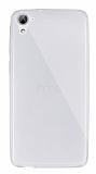 Dafoni Aircraft HTC Desire 826 Ultra İnce Şeffaf Silikon Kılıf