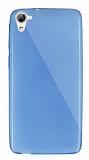 Dafoni Aircraft HTC Desire 826 Ultra İnce Mavi Silikon Kılıf