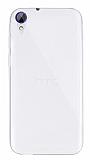 Dafoni Aircraft HTC Desire 830 Ultra İnce Şeffaf Silikon Kılıf
