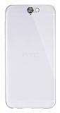 Dafoni Aircraft HTC One A9 Ultra İnce Şeffaf Silikon Kılıf
