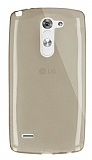 Dafoni Aircraft LG G3 Stylus Ultra İnce Gold Silikon Kılıf