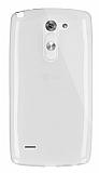 Dafoni Aircraft LG G3 Stylus Ultra İnce Şeffaf Silikon Kılıf