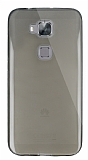 Dafoni Aircraft Huawei G8 Ultra �nce �effaf Siyah Silikon K�l�f