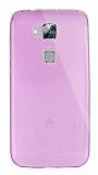 Dafoni Aircraft Huawei G8 Ultra �nce �effaf Pembe Silikon K�l�f