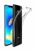 Dafoni Aircraft Huawei Mate 20 Pro Ultra İnce Şeffaf Silikon Kılıf