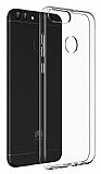 Dafoni Aircraft Huawei P Smart Ultra İnce Şeffaf Silikon Kılıf