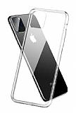 Dafoni Aircraft iPhone 11 Pro Max Ultra İnce Şeffaf Silikon Kılıf