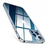Dafoni Aircraft iPhone 12 Pro Max Ultra İnce Şeffaf Silikon Kılıf