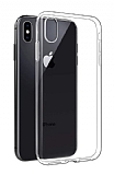 Dafoni Aircraft iPhone XS Max Ultra İnce Şeffaf Silikon Kılıf