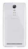 Dafoni Aircraft Lenovo Vibe K5 Note Ultra İnce Şeffaf Silikon Kılıf