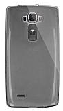 Dafoni Aircraft LG G Flex 2 Ultra İnce Şeffaf Siyah Silikon Kılıf