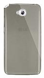 Dafoni Aircraft LG G Pro Lite Ultra �nce �effaf Siyah Silikon K�l�f