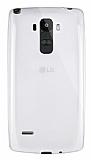 Dafoni Aircraft LG G4 Stylus Ultra İnce Şeffaf Silikon Kılıf