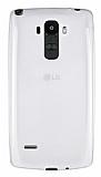 LG G4 Stylus Ultra İnce Şeffaf Silikon Kılıf