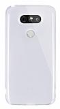 Dafoni Aircraft LG G5 Ultra İnce Şeffaf Silikon Kılıf
