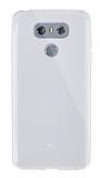 Dafoni Aircraft LG G6 Ultra İnce Şeffaf Silikon Kılıf